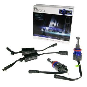AERPRO CREE H9 LED HEADLIGHT 6000 LUMENS GLOBE 5700K KELVIN CONVERSION KIT