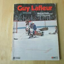 GUY LAFLEUR  1976  book  MONTREAL CANADIENS  by Yvon Pedneault Denis Brodeur 98p