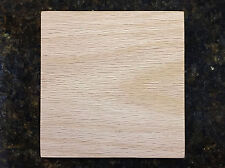"M00598 MOREZMORE 1 Unfinished 5/"" Square Wood Base SECONDS Wooden Plaque"