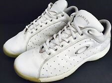 OAKLEY Men US 13 White Leather Athletic Running Hiking Tennis Shoes Sneakers