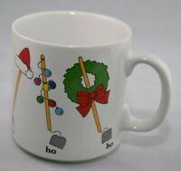 Russ Berrie and Co Vintage HO HO HO Mug | Holidays | Christmas Coffee Mug |