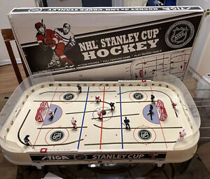 STIGA NHL Stanley Cup Hockey Table Game Detroit Red Wings Vs Toronto Maple Leafs