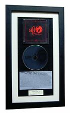 AFI Sing The Sorrow CLASSIC CD Album TOP QUALITY FRAMED+EXPRESS GLOBAL SHIPPING
