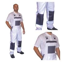 Work Trousers Bib and Brace Pants Overalls Multi Pocket Decorators - 100% Cotton