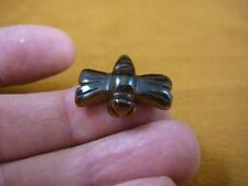 """(Y-Drag-507) 1"""" Hematie flying Dragonfly gemstone Figurine gem carving insect"""