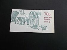 FD2a 1978 LM 70p Horse-shoeing Folded Booklet Miscut with full Perfs Very Scarce