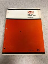 Original Case Model W14 Articulated Loader Parts Catalog B1211 January 1974
