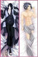 Anime Dakimakura NARUTO Uchiha Sasuke Hugging Body Pillow Case Cover 105CM