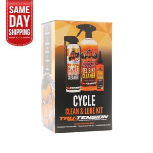 Tru-Tension Bicycle Cycle Clean & Lube Bundle MTB Road Bike