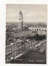 Venezia Panorama 1950 RP Postcard Italy 560a