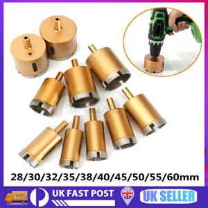 10-60mm Diamond Holes Saw Drill Core Bit Tool For Cutter Tile Ceramic Marble Set