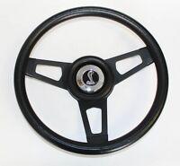 "Maverick Torino Galaxie Grant Black Steering Wheel Black Spokes 13 3/4"" Cobra"