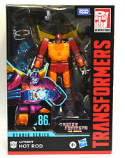 Transformers 86 Studio Voyager Autobot Hot Rod 86-04 Figure In Stock