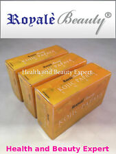 KOJIC PAPAYA SOAP New Improved ROYALE Orange Scent x3  AUTHENTIC *TOP SELLING*