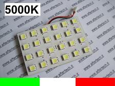 PANEL 24LED SMD5050 BLANCO 5000K T10 BA9S SILURO L35