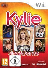 Nintendo Wii juego Kylie Sing & and dance Minogue nuevo & OVP