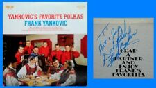 FRANK YANKOVIC - YANKOVIC'S FAVORITE POLKAS - RCA LP - 1968 - INSCRIBED BY FRANK