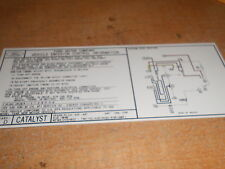 1991 FORD MUSTANG GT LX 5.0 5.0L 302 ENGINE EMISSIONS DECAL STICKER NEW