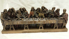 NEW The Last Supper Statue Figures Sculpture Ship Immediately!!!