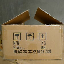 1 carboard removal box packing moving for book CD TV home cleaning38.3x32.5x17cm