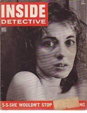 1954 Inside Detective February- Crimes in Oconee NC; Stevens Point