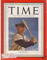 1950 Time April 10-Ted Williams; French Indo-China War