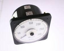 New Crompton 077-05Fa-Lsrx-C6 0-300 Amps Ac 60Hz Meter