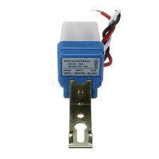 2pcs AC Auto On-Off Photocell Street Light Photoswitch Sensor Switch DC 12V AD