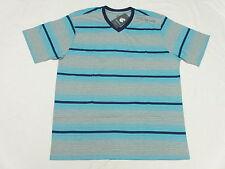 $30 NWT NEW Mens Rocawear T-Shirt Yarn-Dyed Striped V-Neck Tee Urban Sz XL N124