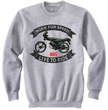 HONDA MB5 - NEW COTTON GREY SWEATSHIRT ALL SIZES IN STOCK