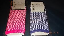 sexy, stylish sleeves from PAMELA MANN, fancy fish net gloves in pink or blue