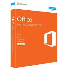 Microsoft Office 2016 Home & Business - 1 Pc - Office Suite - Medialess Box - Pc