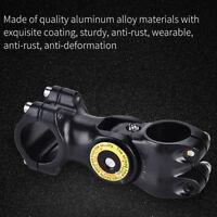 0-60° Aluminiumlegierung Fahrradstamm Fahrrad Lenkervorbau 31.8mm Lenker Vorbau