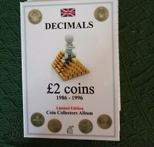 """£2 coin collection pre-1997 complete with Rare """"claim of rights"""""""