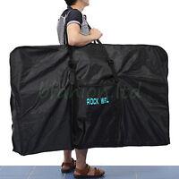 "UK Large Folding Waterproof Carry Bicycle Bag 26"" Mountain Bike MTB 700C Carrier"