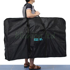 "XXL Folding Waterproof Carry bicycle Bag 26"" 27.5'' Mountain Bike MTB Transport"