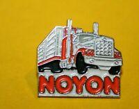 Pin's Pins pin lapel SOCIÉTÉ CAMION Semi-remorque TRUCK US TRANSPORT NOYON