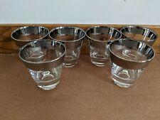 Mid Century Dorothy Thorpe Style Double Shot Glasses