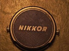 Nikkor Nikon Rangefinder 40.5mm USED Snap on cap with pins very hard to Find