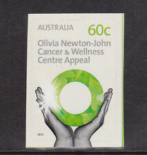 2012 Olivia Newton John Cancer & Wellness Centre - 60c Booklet Stamp