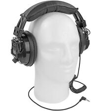 Over The Head Racing Scanner Headset Nascar Style Electronics Padded Headphones