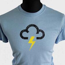 Wetter Symbol T-Shirt Lightning TV Donner Storm Lustig Spaß Cool T-Shirt