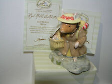 BRAMBLY HEDGE ROYAL DOULTON FIGURE LILY WEAVER DBH54 BOXED & CERT 1ST QLTY