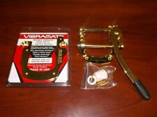 NEW - Genuine Bigsby B5 Vibrato & V5 Vibramate SHORT Mount Kit For SG - GOLD