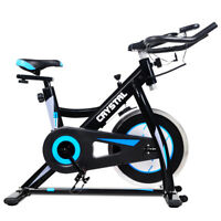 PRO EXERCISE BIKE AEROBIC INDOOR STUDIO HOME CARDIO  FITTNESS NEW CYCLE MACHINE