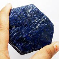 1203.95 Ct Natural Unheated Blue Sapphire Corundum Rough Loose Gemstone.C-9357 W