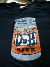 T-shirt Duff Beer nera XL