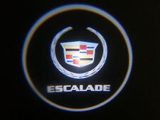2PC ESCALADE 5W LED EMBLEM DOOR PROJECTOR GHOST SHADOW PUDDLE LOGO LIGHT