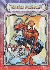 8  Spiderman Party Invitations, Marvel Comics, NEW Sealed Package
