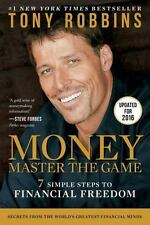 MONEY THE MASTER GAME 7 Steps to Financial Freedom Tony Robbins NEW pb book debt